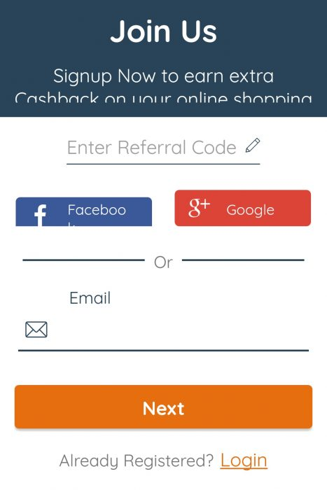 PaisaWapas Referral Code