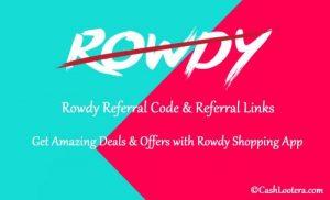 Rowdy Referral Code