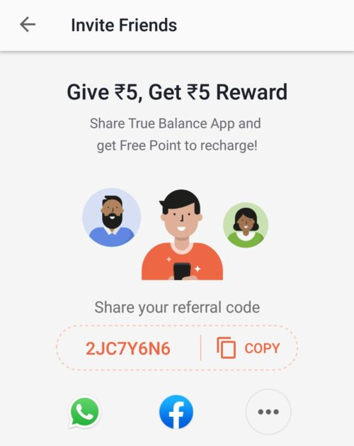 True Balance Referral Link