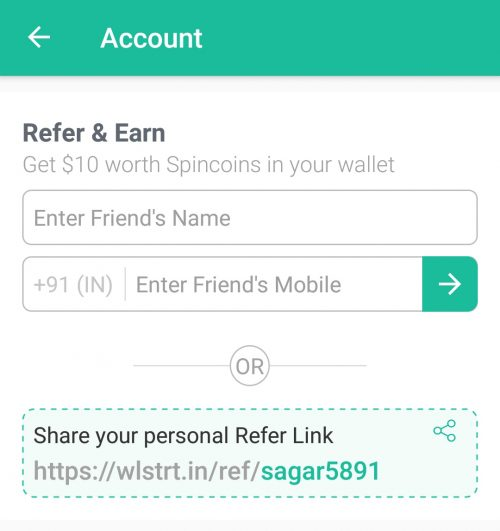 WheelStreet Refer and Earn