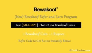 Bewakoof Referral Code