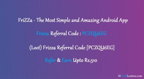 Frizza Referral Code