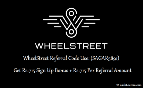 WheelStreet Referral Code