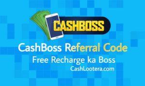 CashBoss Referral Code