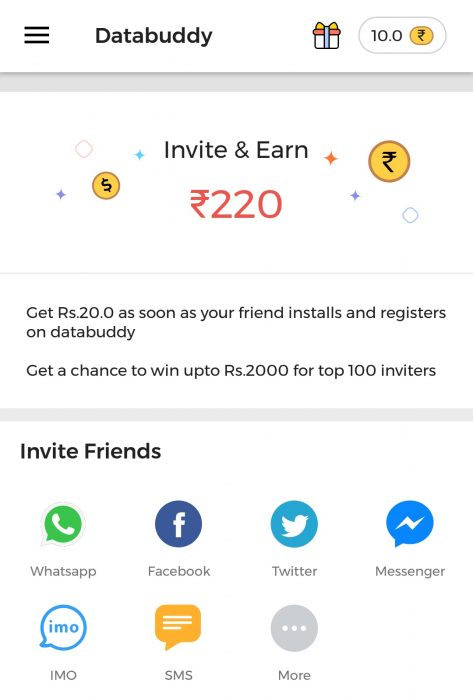 CashBuddy App Refer and Earn