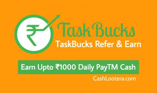 TaskBucks Refer and Earn