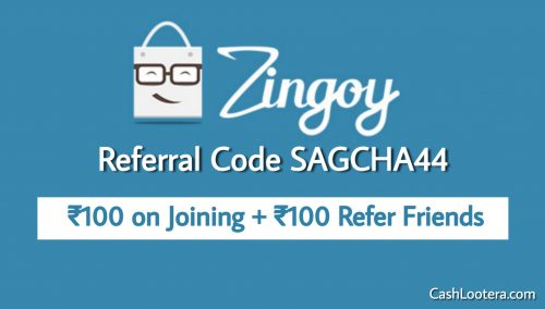 Zingoy Referral Code