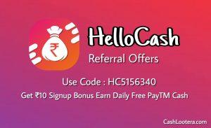 HelloCash App
