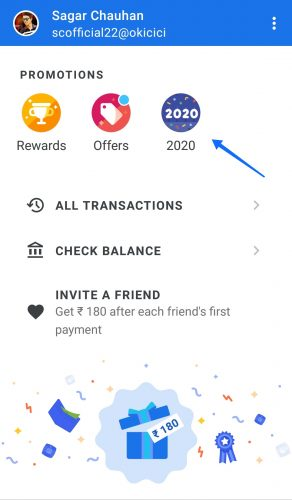 Google Pay 2020 Game