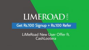 LimeRoad App