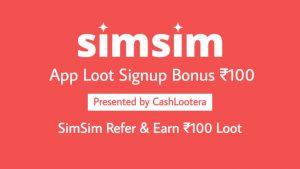 SimSim App Loot