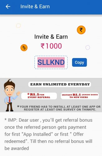 ThinkPe Refer and Earn
