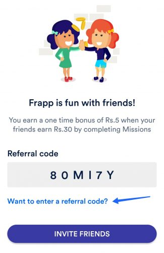 Frapp App Referral