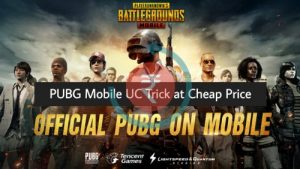 Cheap UC in PUBG Mobile UC Trick