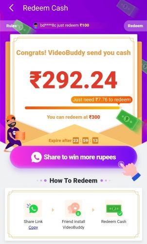 VideoBuddy Referral Code