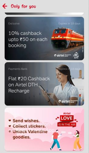 Airtel Love is In The Air