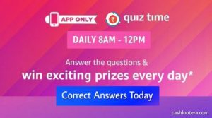 Amazon Quiz Answers Win