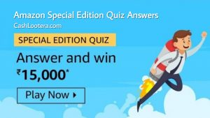 Amazon Special Edition Quiz Answers