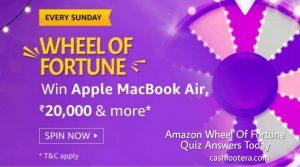 Amazon Wheel Of Fortune Quiz Answers