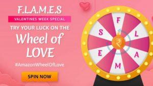 Amazon Wheel Of Love Quiz
