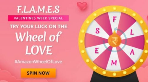 Amazon Wheel Of Love Quiz