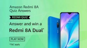 Amazon Redmi 8A Quiz