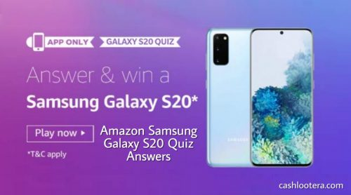Amazon Samsung Galaxy S20 Quiz
