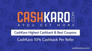 CashKaro App Referral Code