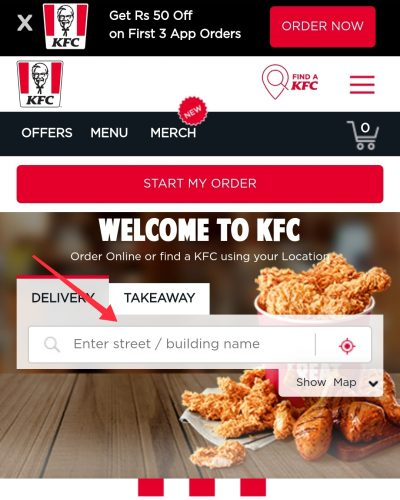 KFC Wednesday Offer Near Me