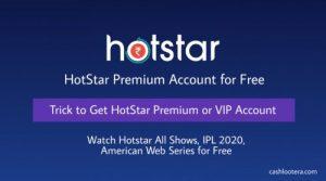 Hotstar Premium Account for Free