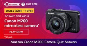 Amazon Canon Mirrorless Camera Quiz