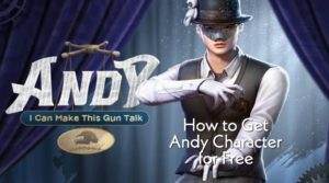 Andy Character Free PUBG