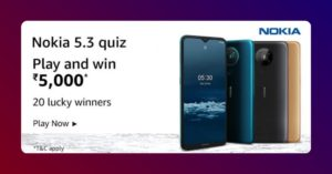 Amazon Nokia 5.3 Quiz