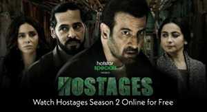 Hostages Season 2 Hotstar