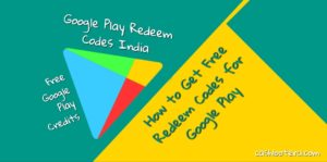 Google Play Redeem Codes