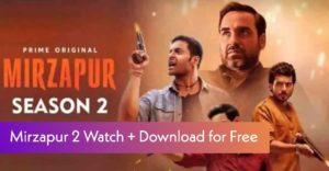 Mirzapur Season 2 Online Free