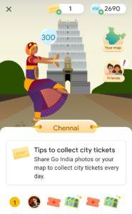 Google Pay Go India City Tickets