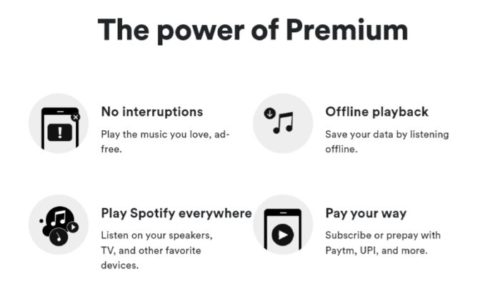 Spotify Premium Apk Features