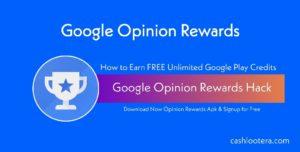 Google Opinion Rewards Hack