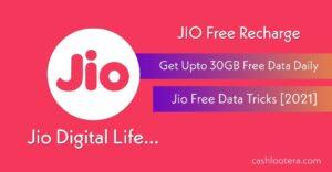Jio Free Data