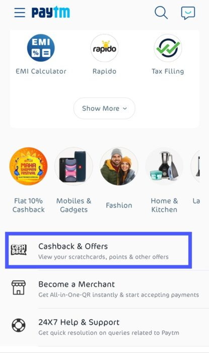 Paytm 2021 Wishlist Offer Stickers