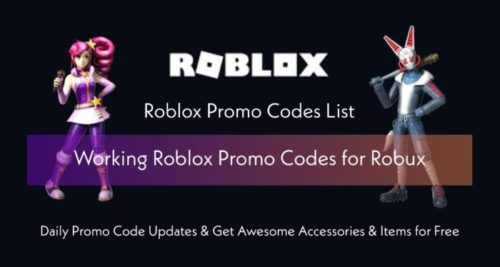 Roblox Promo Codes List June 2021 FREE Robux Codes