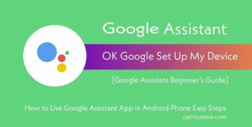 Ok Google Assistant