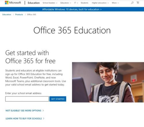Microsoft Office Student Discount 2021
