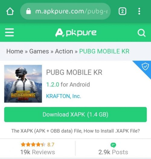 Pubg Kr Version Apkpure