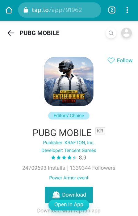 Pubg Kr Version Tap Tap