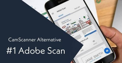 Adobe Scan CamScanner Alternative