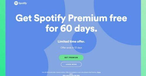 Spotify Free Trial