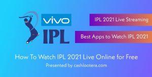 Vivo IPL 2021 Live