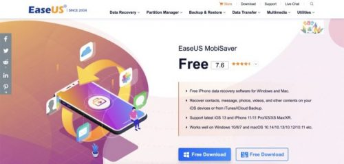 iOS Data Recovery Software